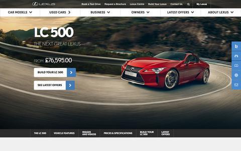 The New LC 500 | Lexus Europe