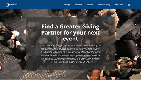 Greater Giving Partner Program | Refer and Earn
