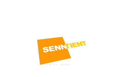 Screenshot of Home Page senntient.com - Welcome to Senntient.com - captured Oct. 6, 2014