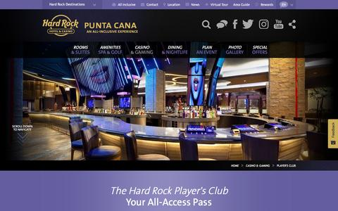 The Hard Rock Player's Club