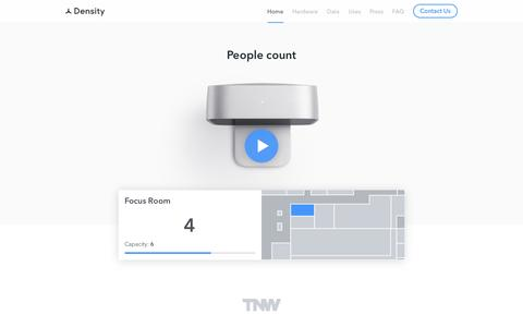 Density | A People Counter & API