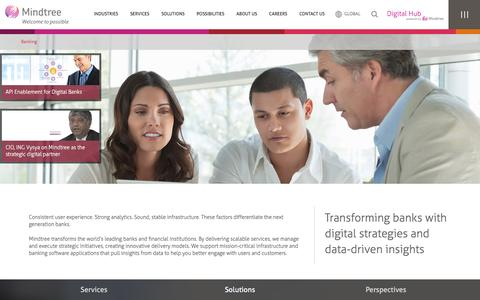 Banking & Financial Software Solutions | Mindtree