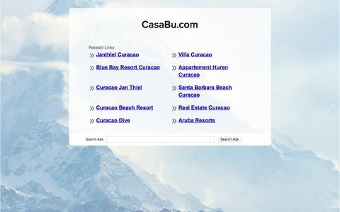 Screenshot of Home Page casabu.com - CasaBu.com - captured July 2, 2016