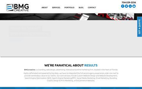 Web Design, SEO, and Internet Marketing in Ft LauderdaleBMGcreative