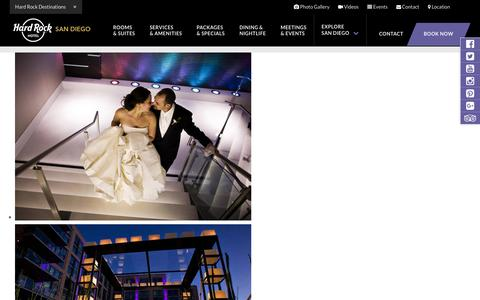 San Diego Wedding Venue – Downtown Gaslamp District Wedding Spaces at Hard Rock Hotel SD