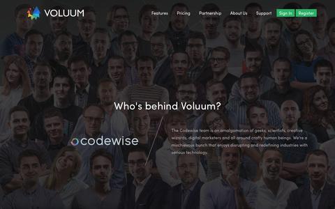 Voluum - Performance marketing tracker | About