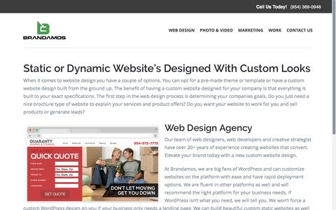Custom Website Design - Local Web Design Company