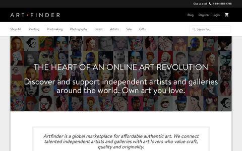 About | Artfinder