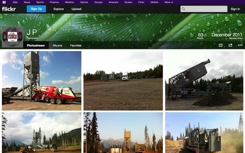Screenshot of Flickr Page flickr.com - Flickr: Cemcoinc's Photostream - captured Oct. 22, 2014