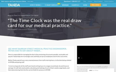 Medical Practice Rostering Software | Track Attendance | Tanda