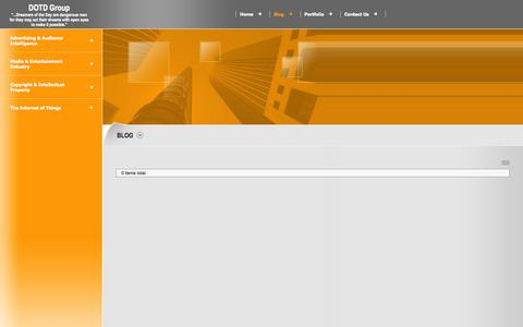 Screenshot of Blog dotd-group.com - DOTD Group - Blog - captured Sept. 30, 2014