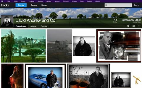 Screenshot of Flickr Page flickr.com - Flickr: David Andrew and Co.'s Photostream - captured Oct. 23, 2014
