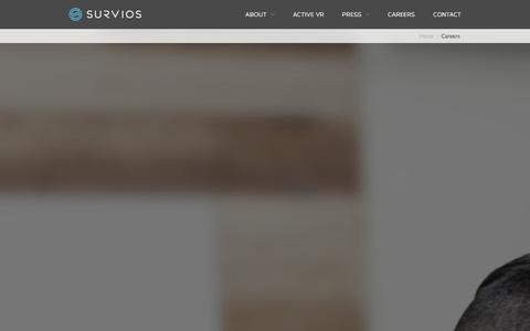 Screenshot of Jobs Page survios.com - Careers - Survios - captured Dec. 11, 2015