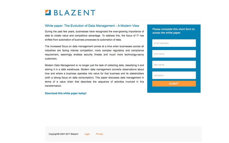 Blazent   The Evolution of Data Management - A Modern View