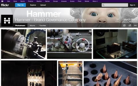 Screenshot of Flickr Page flickr.com - Flickr: Hammer - Brand Governance Company's Photostream - captured Oct. 22, 2014