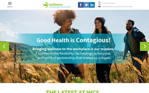 Home - Wellness Corporate Solutions