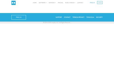 Screenshot of Support Page cicayda.com - support @cicayda - captured Nov. 5, 2014