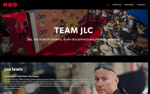 Screenshot of About Page joelewiscompany.com - We — JLC - captured Feb. 15, 2016