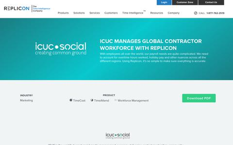 Screenshot of Case Studies Page replicon.com - ICUC | Replicon - captured May 3, 2018