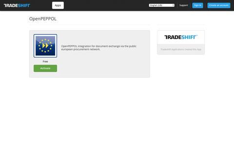 Tradeshift - OpenPEPPOL