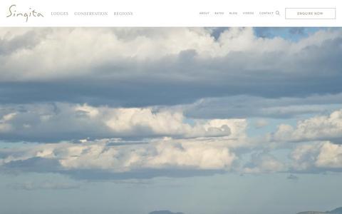 Screenshot of Terms Page singita.com - Terms & Conditions | Singita - captured Sept. 23, 2017