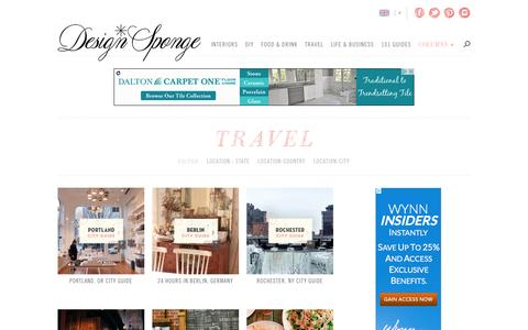 Travel | Design*Sponge