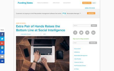 Screenshot of Blog fundinggates.com - Small Business Finance News and Advice | Funding Gates Community - captured Aug. 21, 2019