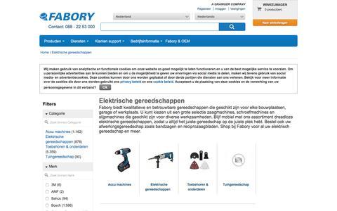Bij Fabory bestelt u Elektrische gereedschappen van hoge kwaliteit | Fabory, Nederland