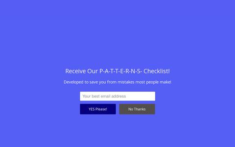 Screenshot of Home Page apluspatterns.com - How to Start a Clothing Line | A Plus Patterns - captured July 13, 2016
