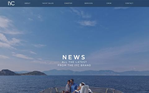 Screenshot of Press Page iyc.com - News - IYC - captured Feb. 11, 2016