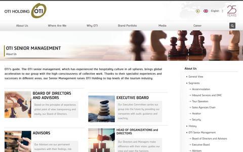 Screenshot of Team Page otiholding.com - OtiHolding - OTI Senior Management - captured Nov. 1, 2017