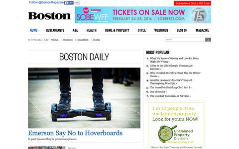 Boston News, Opinion & Commentary | Boston Magazine