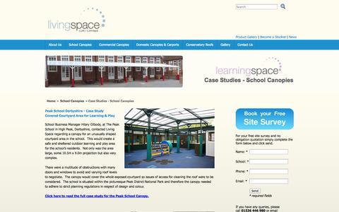 Screenshot of Case Studies Page livingspaceltd.co.uk - Case Studies | Living Space UK Ltd - captured Oct. 2, 2014