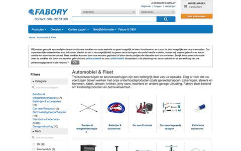 Bij Fabory bestelt u Automobiel & Fleet van hoge kwaliteit | Fabory, Nederland