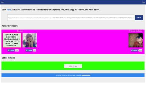 Screenshot of Home Page autoliker.tv - Indonesia Autolike - captured Sept. 19, 2014