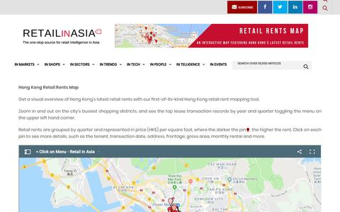 Screenshot of Maps & Directions Page retailinasia.com - RETAIL RENTS MAP - Retail in Asia - captured Oct. 18, 2018