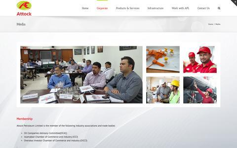 Screenshot of Press Page apl.com.pk - Media – APL - captured Oct. 4, 2018