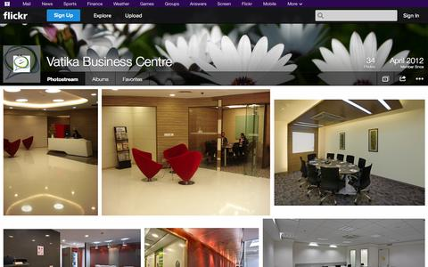 Screenshot of Flickr Page flickr.com - Flickr: Vatika Business Centre's Photostream - captured Oct. 25, 2014
