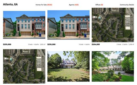 Screenshot of Home Page century21.com - Residential Real Estate Listings - Homes for Sale by Real Estate Agents | CENTURY 21 - captured July 9, 2016