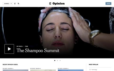 Opinion Video Channel - NYTimes.com