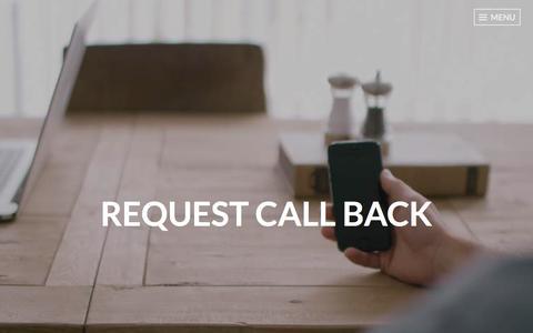 Screenshot of Contact Page wordpress.com - Request Call back – FORWARD ASSIST MECHANICS - captured Jan. 31, 2018