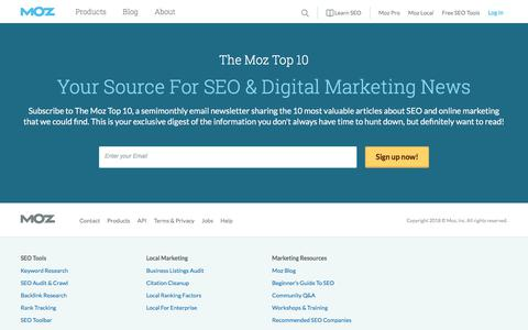 SEO Software, Tools and Resources for Better Marketing | Moz