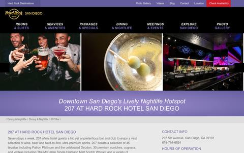 207 Bar & Nightclub in Downtown San Diego | Hard Rock Hotel SD