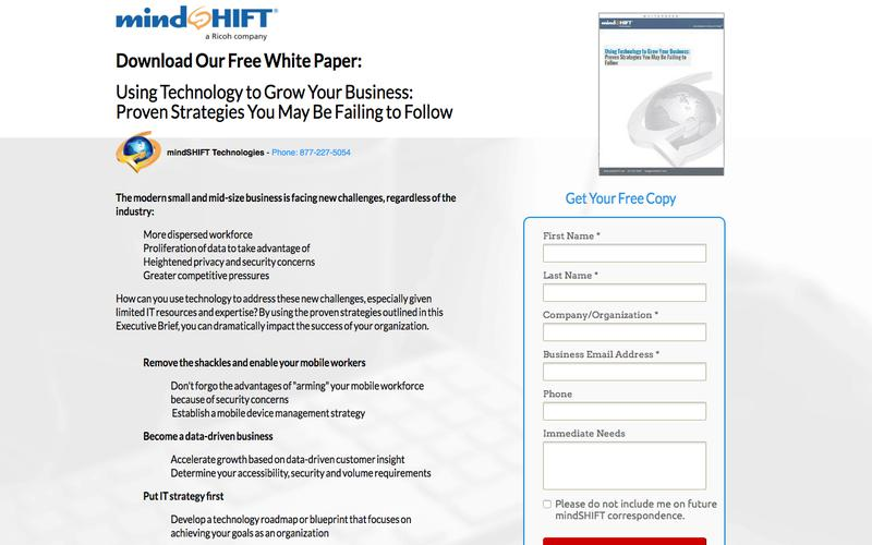 Whitepaper - Using Technology to Grow Your Business - Business Strategy