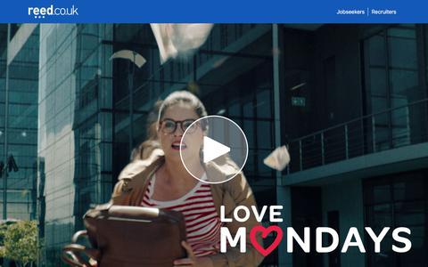 Love Mondays | reed.co.uk