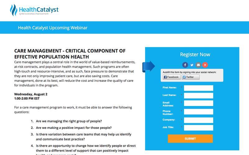 Health Catalyst Upcoming Webinar | Healthcare Analytics and Data Warehousing