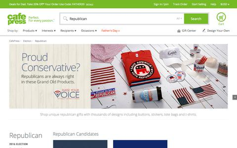 Republican Gifts & Merchandise | Republican Gift Ideas | Unique - CafePress