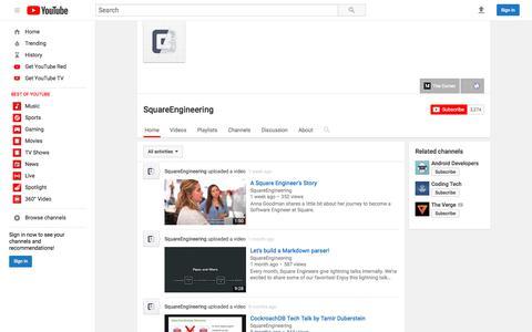 SquareEngineering  - YouTube