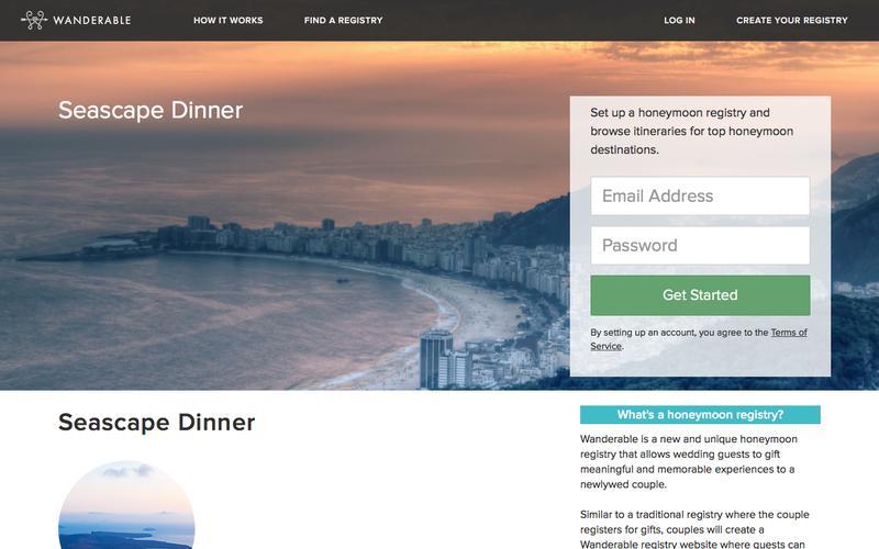Seascape Dinner |  | Wanderable