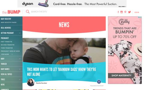 Screenshot of Press Page thebump.com - The Latest Pregnancy, Parenting, and Baby News - captured June 20, 2017
